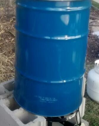 Mushroom Barrel